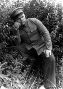 Кожедуб в китайской форме без опознавательных знаков. 1951 г.