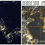 Северная Корея погружена во тьму