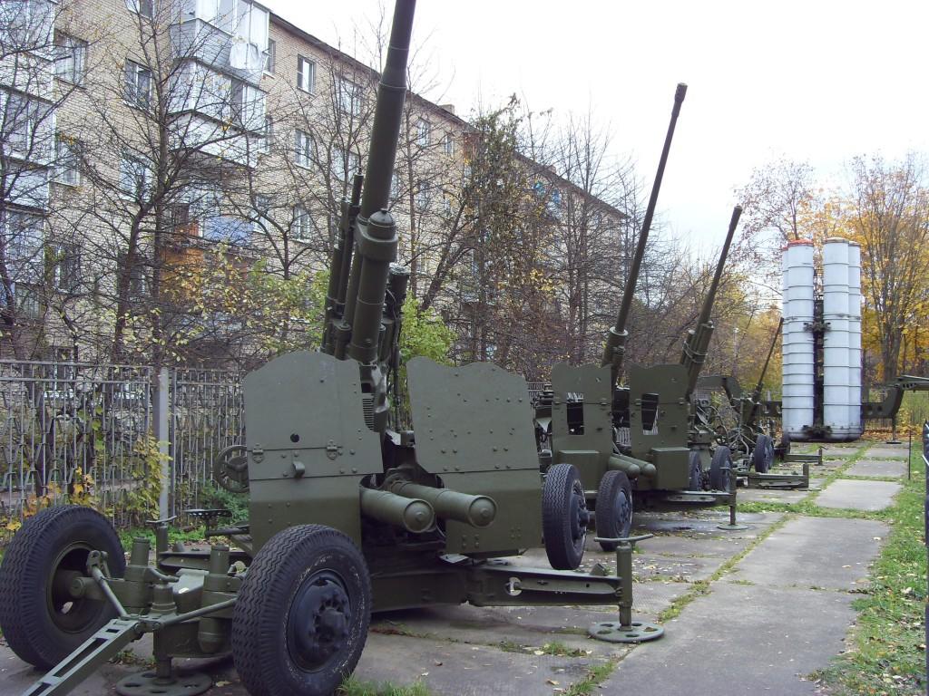 Зенитная артиллерия в Корейской войне