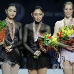 Южнокорейская фигуристка Ким Ён А – серебряная медалистка чемпионата мира