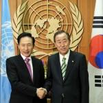 Президент США поддерживает переизбрание Пан Ги Муна на второй срок