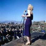 Фронтовой концерт Мэрилин Монро для войск в Южной Корее