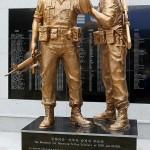 В Сеуле открыт памятник корейским солдатам воевавшим в американских частях
