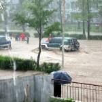 Мощный ураган обрушился на побережье КНДР