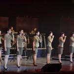 Пхеньянская поп-группа МОРАНБОН БЭНД дала концерт по случаю Дня Победы