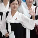 Первая леди Северной Кореи Ли Соль Чжу посещала Южную Корею в 2005 году