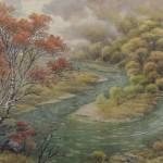 Достояние нации – корейская национальная живопись из драгоценного камня