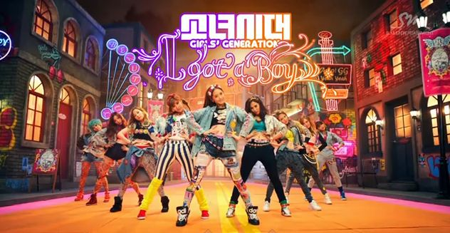 Girls' Generation-I GOT A BOY