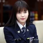 Южнокорейская поп-певица IU произведена в почетные офицеры полиции