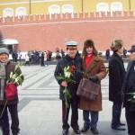 Встреча российских и корейских моряков