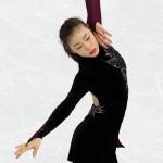 Южнокорейская фигуристка Ким Ён А серебряная медалистка Сочи 2014