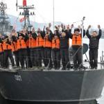 Два патрульных катера КНДР нарушили границу с Республикой Корея