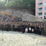 В Пхеньяне обрушилась конструкция строившегося жилого дома, есть жертвы