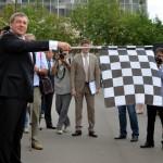 Министр регионального развития Игорь Слюняев дал старт международному автопробегу «Россия – Корея – 2014»