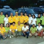 Участники автопробега «Россия–Корея 2014» посетили район горы Пэктусан