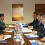 Игорь Слюняев провел рабочую встречу с Послом КНДР в РФ Ким Ен Дже