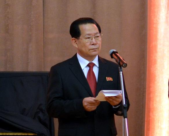 Чрезвычайный и Полномочный Посол Корейской Народно-Демократической Республики в Российской Федерации Ким Хен Чжун. Фото: OneKorea.RU