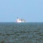 КНДР запустила три ракеты в Японское море