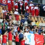 Гражданам Южной Кореи грозит арест за флаг КНДР на Азиатских играх