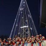 Конструкция в виде рождественской ёлки в районе межкорейской границы демонтирована