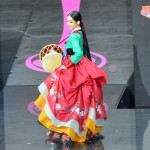 Мисс Корея на конкурсе Мисс Вселенная 2013 в Москве