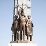 На Монументе идей чучхе в Пхеньяне будут установлены памятные плиты из РФ