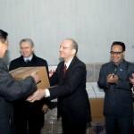 Российские дипломаты передали КНДР партию медикаментов в качестве гуманитарной помощи