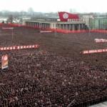 В центре Пхеньяна состоялся массовый антиамериканский митинг