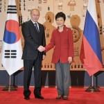 Путин ожидает активизации гуманитарных контактов с Южной Кореей
