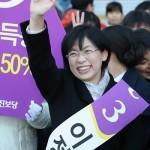 Кандидат в президенты от Объединенной прогрессивной партии Ли Чжон Хи отказалась от участия в выборах