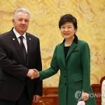 Делегация России обсудила с президентом Южной Кореи сотрудничество