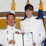 Пак Тхэ Хван стал почетным послом ВМФ Южной Кореи