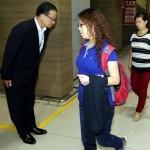 Президент РК Пак Кын Хе выразила соболезнования семьям китайских школьниц, погибших в авиакатастрофе