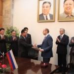 А.Галушка: Российско-Северокорейские отношения нацелены на качественно новый уровень и прорыв в торгово-экономической сфере