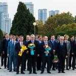 Министр по развитию дальнего Востока Александр Галушка находится с недельным визитом в КНДР