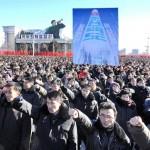В столице КНДР состоялся митинг в поддержку новогоднего обращения Ким Чен Ына