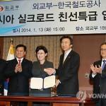 Великий южнокорейский евразийский железнодорожный проект