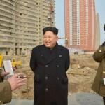 Лидер КНДР осмотрел с самолета район строительства микрорайона для ученых в Пхеньяне