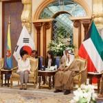 Президент РК Пак Кын Хе прибыла с визитом в Кувейт