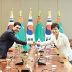 Южнокорейские компании построят в Туркмении сталелитейный завод за $1 млрд