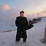 Лидер КНДР совершил восхождение на вершину священной для корейцев горы Пэктусан
