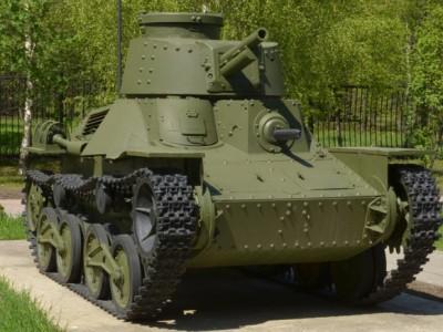 Японские трофейные танки показали в Москве