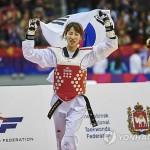 Представительница Южной Кореи Ха Мин А завоевала золото ЧМ по тхэквондо
