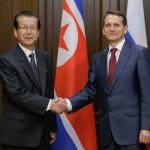 Сергей Нарышкин встретился с Председателем Верховного народного собрания КНДР Цой Тхэ Боком