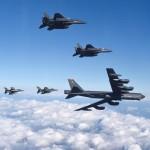 США перебросили в Южную Корею стратегический бомбардировщик B-52