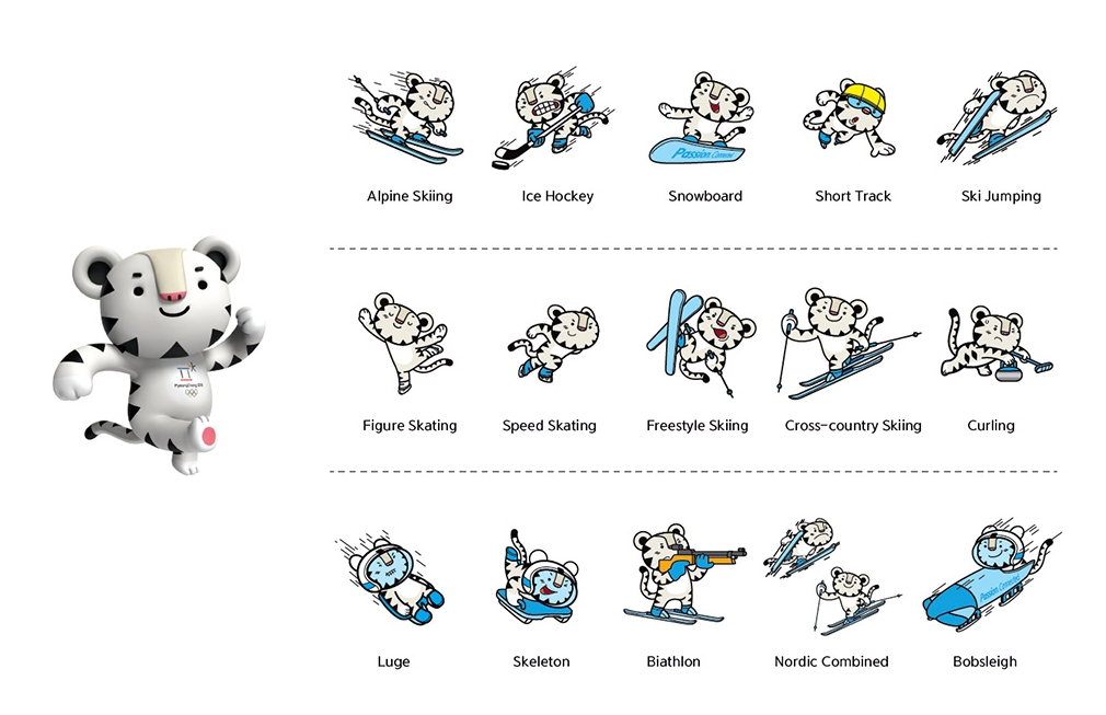 Soohorang - Official Mascots of PyeongChang2018
