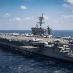 Авианосная группировка США выдвинулась в район Корейского полуострова