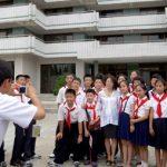 Проведена 32-ая церемония поступления в Сондовонский международный детсоюзовский лагерь