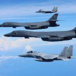 Стратегические бомбардировщики США пролетели вдоль береговой линии СК