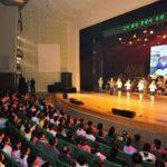 Музыкально-хореографический концерт ансамбля Моранбон прошел с аншлагом в городе Анчжу